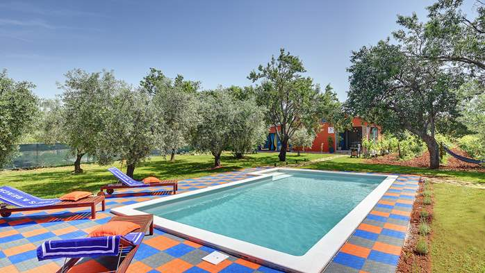 Irresistible house in Medulin with pool and private garden, 9