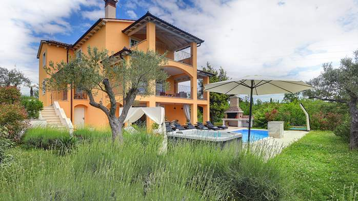 Lovely villa with pool, jacuzzi, sauna, gym and WiFi, 3