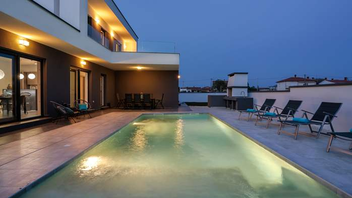 Modern villa with three bedrooms, an outdoor pool and WiFi, 8