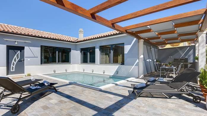 Villa in Galižana for 6 people, swimming pool, sun terrace, WiFi, 3