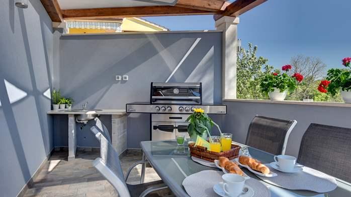 Villa in Galižana for 6 people, swimming pool, sun terrace, WiFi, 4