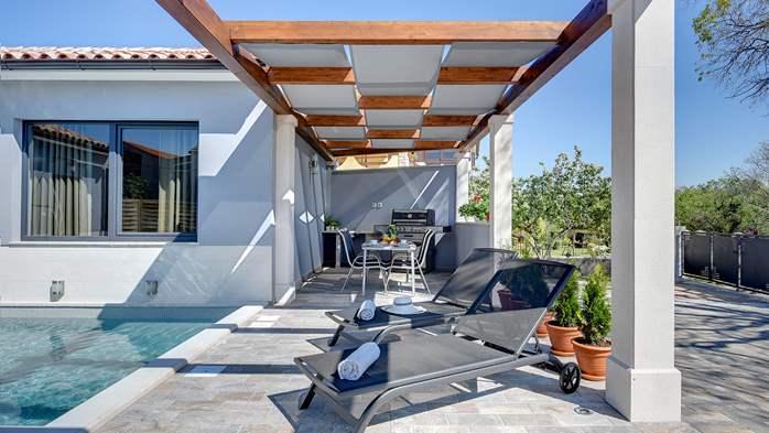 Villa in Galižana for 6 people, swimming pool, sun terrace, WiFi, 5