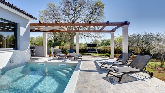 Villa in Galižana for 6 people, swimming pool, sun terrace, WiFi, 7
