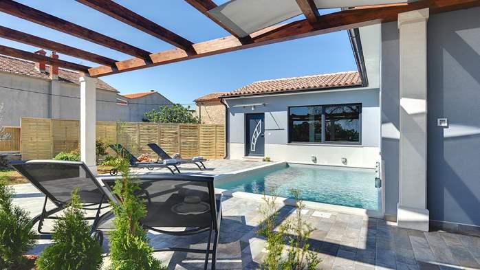 Villa in Galižana for 6 people, swimming pool, sun terrace, WiFi, 2