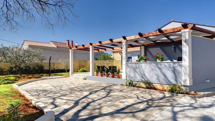 Villa in Galižana for 6 people, swimming pool, sun terrace, WiFi, 10