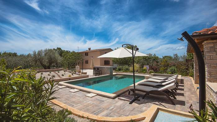 Villa with pool, sun terrace and beautifully landscaped garden, 4