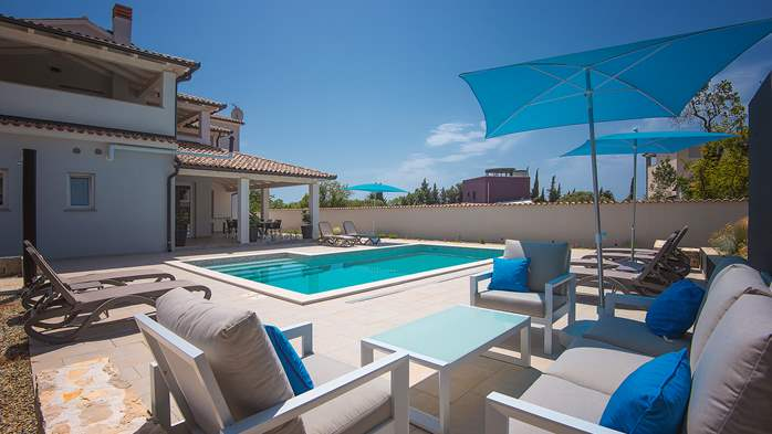 Villa with heated pool and crossfit hall in Premantura, 5