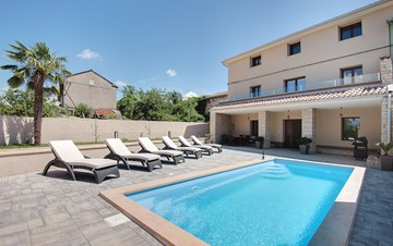 Modern villa with three bedrooms and a private outdoor pool