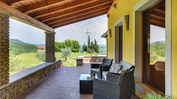 Traditional Istrian villa for 12 persons with private pool, 11