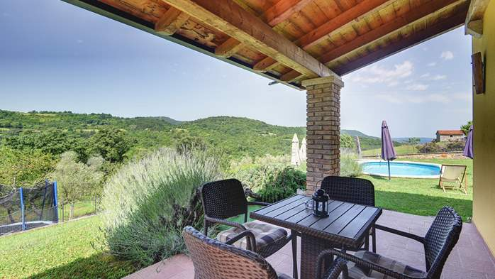 Traditional Istrian villa for 12 persons with private pool, 13