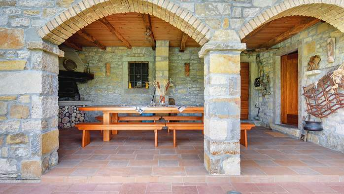 Traditional Istrian villa for 12 persons with private pool, 8
