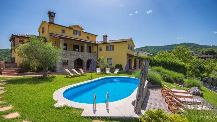 Traditional Istrian villa for 12 persons with private pool, 1