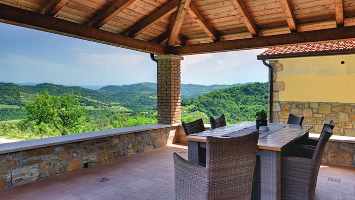 Traditional Istrian villa for 12 persons with private pool, 14