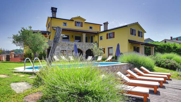 Traditional Istrian villa for 12 persons with private pool, 3