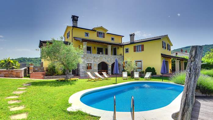 Traditional Istrian villa for 12 persons with private pool, 2