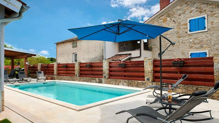 Charming villa in the heart of Istria with private pool, 3