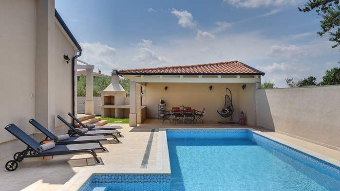 Romantic villa for 6 persons with private pool near Porec, 6