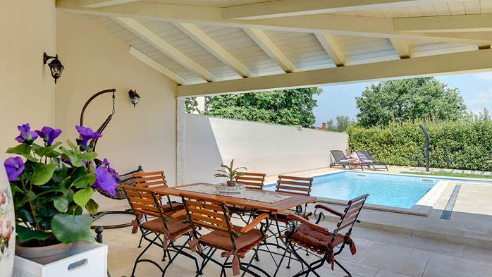 Romantic villa for 6 persons with private pool near Porec, 7
