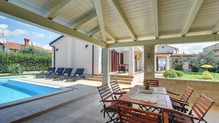 Romantic villa for 6 persons with private pool near Porec, 8