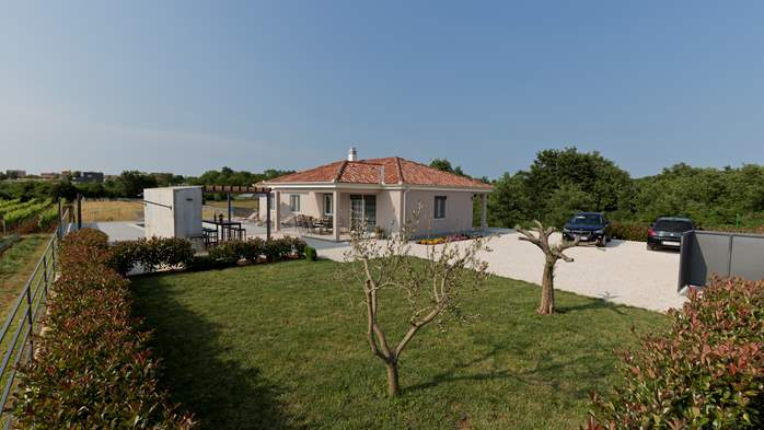 Newly built villa for seven persons, private pool, WiFi, parking, 19