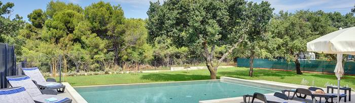 Villas with pool in Istra