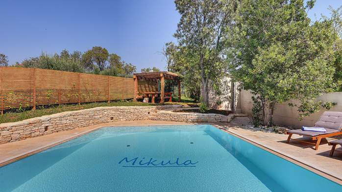 Lovely villa with pool, surrounded by greenery, for 12 persons, 1