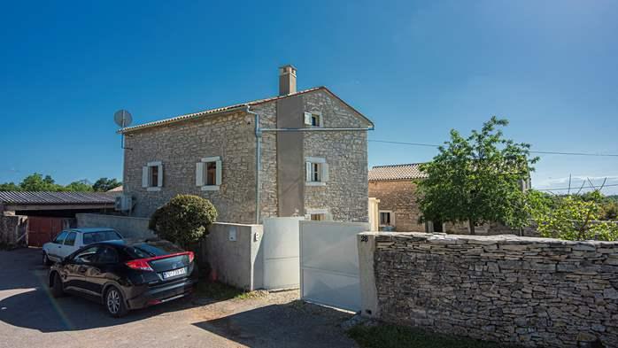 Stone villa on three floors with private pool, 6