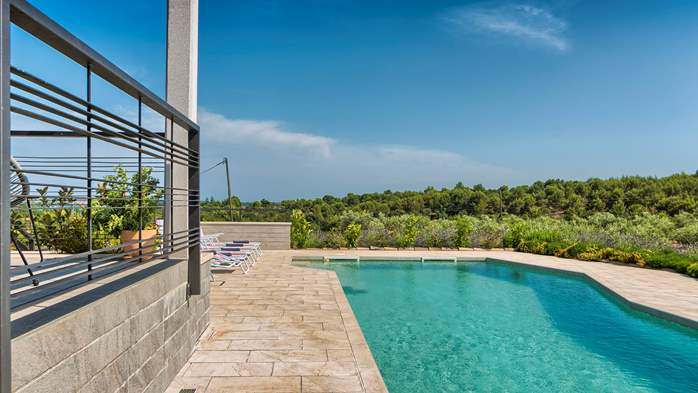 Unique villa surrounded by nature, with outdoor pool, 9