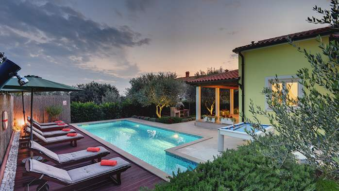 Beautiful villa in Pula for six persons, with private heated pool, 5