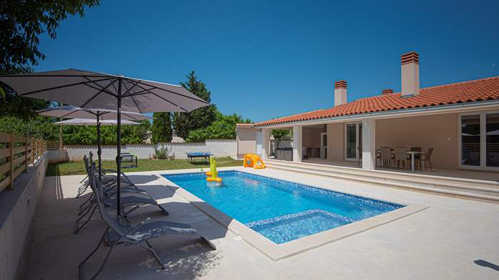 Spacious villa with three bedrooms and a private pool, 1