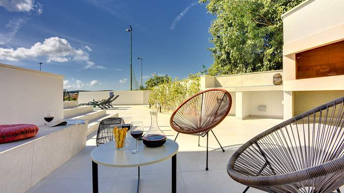 Modern villa in Pomer with private pool, for seven people, 11