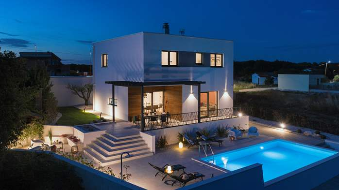 Modern villa in Pomer with private pool, for seven people, 4