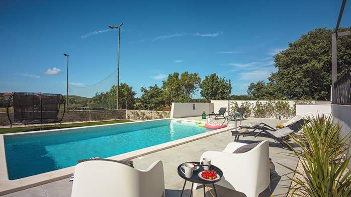 Modern villa in Pomer with private pool, for seven people, 10