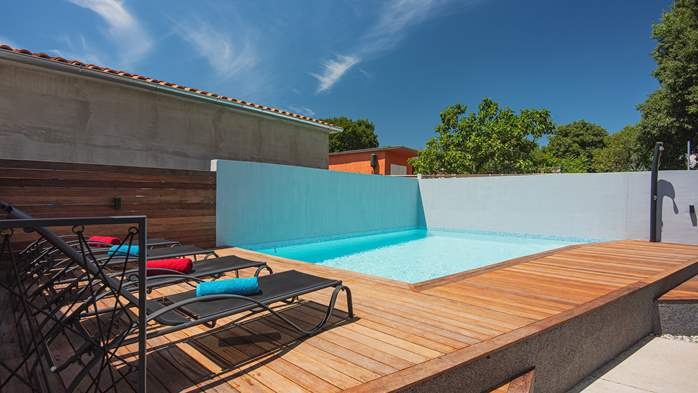 Beautifully decorated villa with private pool and large terrace, 5