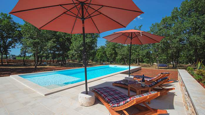 Villa with private pool for 4 persons, on a spacious property, 2