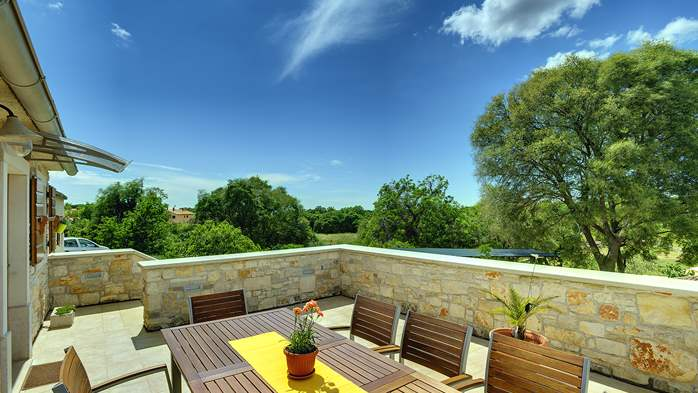 Traditional istrian stone villa with private pool and terrace, 11
