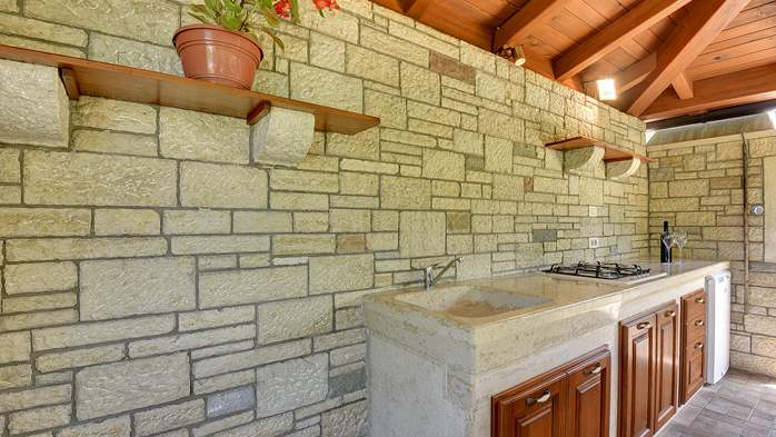 Traditional istrian stone villa with private pool and garden, 12