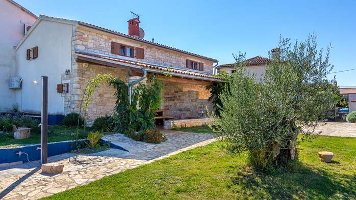 Villa with private pool, decorated in traditional Istrian style, 20