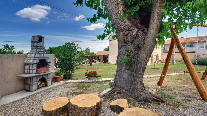 Istrian villa with private pool, playground for kids and barbecue, 9