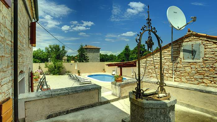 Istrian villa with private pool, playground for kids and barbecue, 12