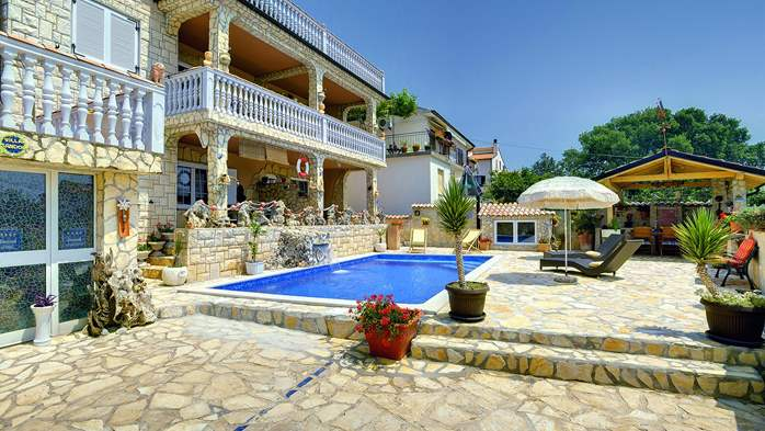 Apartments with heated pool, close to the beach, for adults, 7