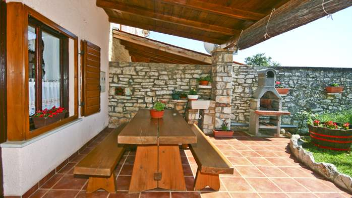 Istrian house in wood and stone on two floors for 4 persons, 7