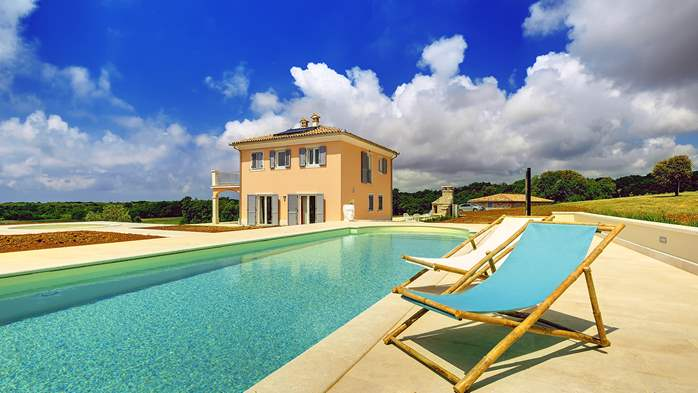 Villas with pool Villa Mongarsel