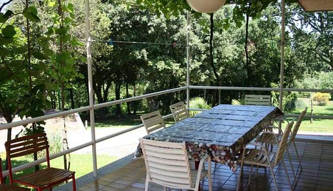 Private house on a quiet location in Banjole with playground, 22