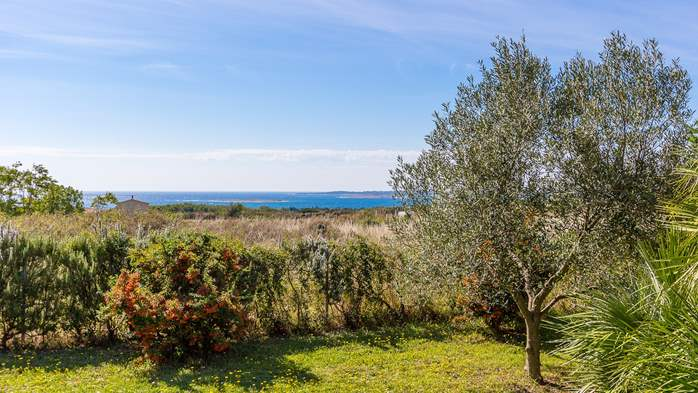 Lovely little house in Medulin with fenced garden and seaview, 11