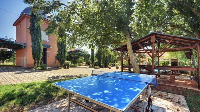 Incredible house with pool and observatory offers nice apartments, 18