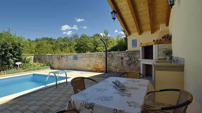 Charming villa with pool, parking, pets are welcome, 7