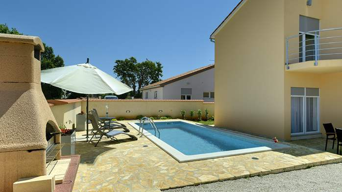 Villa in Ližnjan with 2 pools, fenced garden, SAT-TV and Wi-Fi, 2