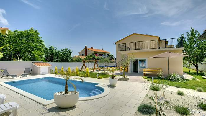 Modern villa in Medulin, with swimming pool, gym and Wi-Fi, 11