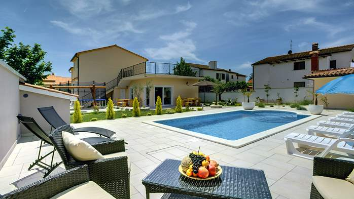 Modern villa in Medulin, with swimming pool, gym and Wi-Fi, 16
